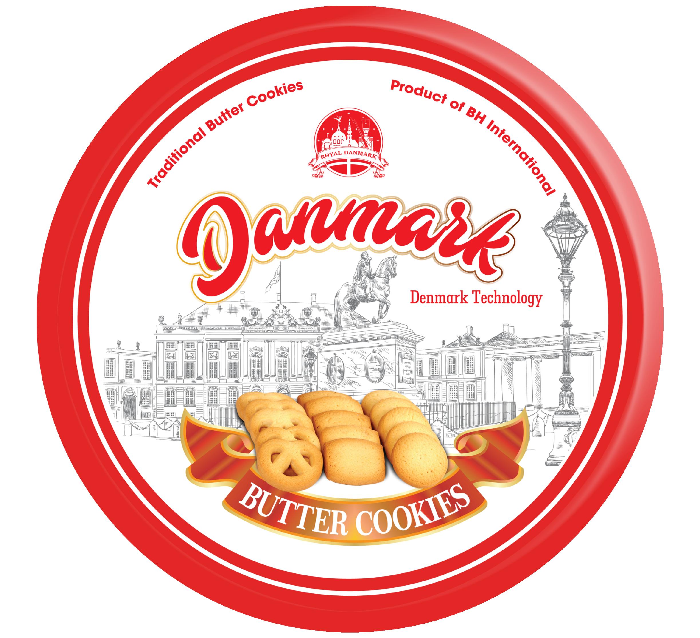 Danmark Cookies Đỏ