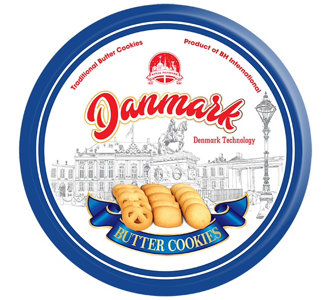 Danmark Cookies Xanh