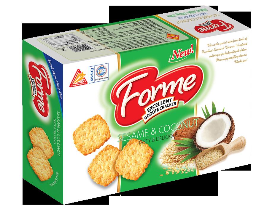 Cracker Vừng dừa